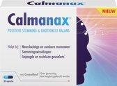 Calmanax Positieve stemming & Emotioneel balans - Bij Emotioneel evenwicht, stress, vermoeidheid en sombere gevoelens - 30 capsules - Voedingssupplement