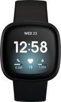 Fitbit Versa 3 - Smartwatch - Zwart