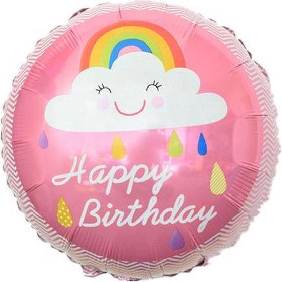 Lachend-Regenboog-Wolkje-18-Inch-Folie-Ballon