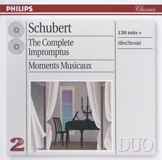 Complete Impromptus The/Moments Musicaux D.780