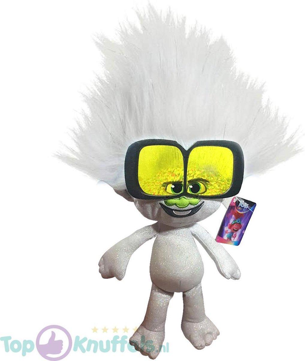 Tiny Diamond Trolls Pluche Knuffel 42 cm | Trolls Wereldtour | Trolls World tour | Trols Plush | Poppy & Friends | Guy Diamond