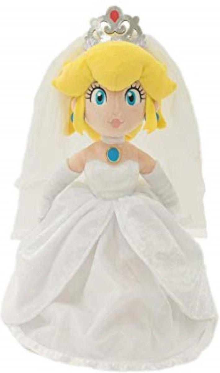 Super Mario Odyssey: Peach Bride 40 cm - Pluche