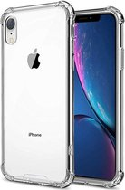 iPhone XR Transparant hoesje | Siliconen Case | Shock Proof