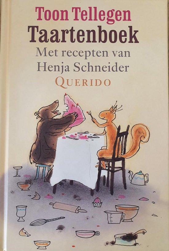 Boek cover Taartenboek van Toon Tellegen (Hardcover)