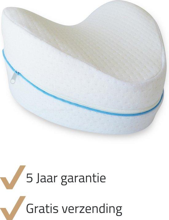 Thexa® - Beenkussen / kniekussen voor in bed - zijslaapkussen - lichaamskussen - beter slapen