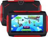 Let op type!! Q98 Kids Game Tablet PC  7 0 inch  1GB+8GB  Android 9.0 Allwinner A50 Quad Core  Support WiFi / Bluetooth / TF Card / G-sensor / Dual Camera (Zwart)