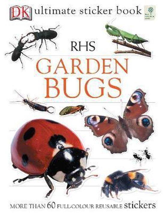 Boek cover RHS Garden Bugs Ultimate Sticker Book van Ben Hoare (Paperback)