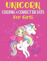 Unicorn Coloring & Connect the dots for girls