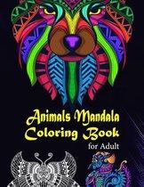 Animals Mandala Coloring Book for Adult