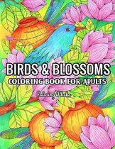 Birds & Blossoms Coloring Book for Adults