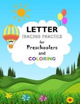 Letter Tracing Practice For Preschoolers and Coloring