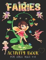 Fairies Activity Book for Girls Ages 4-8