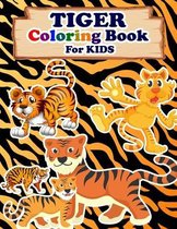 TIGER Coloring Book For Kids