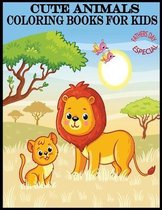 Cute Animals Coloring Books For Kids Fathers Day Especial