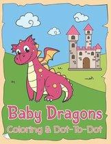 Baby Dragons Coloring & Dot to Dot