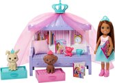 Barbie Princess Adventure Chelsea Friend Bedtijd Speelset