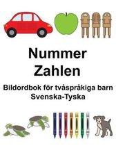 Svenska-Tyska Nummer/Zahlen Bildordbok foer tvasprakiga barn