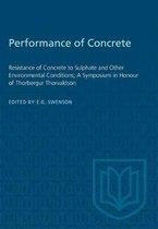 Performance of Concrete
