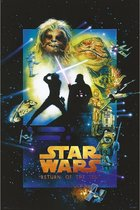 Star Wars Return of the Jedi Special Edition filmposter 61x91.5cm.