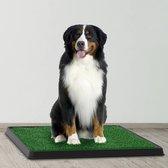 Basic Hondentoilet - Inclusief gratis E-Book - Puppy pads - Trainingshulpen hond – indoor/outdoor hondentoilet met kunstgras