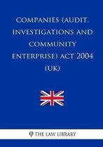 Companies (Audit, Investigations and Community Enterprise) Act 2004 (UK)