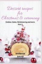 Dessert recipes for Christmas & ceremony -2-