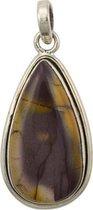Zilveren hanger Mookaiet 925 zilver