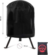 COVER UP HOC RED BBQ hoes rond - 70x80 cm - Barbecue hoes - afdekhoes ronde bbq