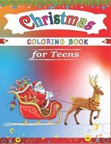 Christmas Coloring Book for Teens