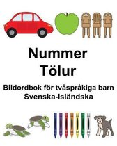 Svenska-Islandska Nummer/Toelur Bildordbok foer tvasprakiga barn