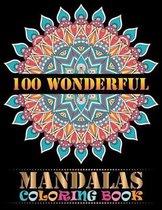 100 Wonderful Mandalas Coloring Book