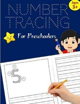 Number Tracing Book for Preschoolers: Number Writing Practice for Kids ages 3-5, Kindergarten and Pre K: Handwriting Workbook for Kids Kindergarten, N