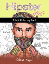 Hipster Style: Adult Coloring Book