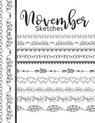 November Sketches: Astrology Sketchbook Activity Book Gift For Women & Girls - Daily Sketchpad To Draw And Sketch In As The Stars And Pla