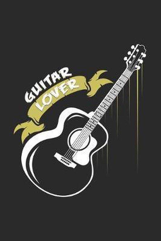 guitar lover: 6x9 Guitar - dotgrid - dot grid paper - notebook - notes