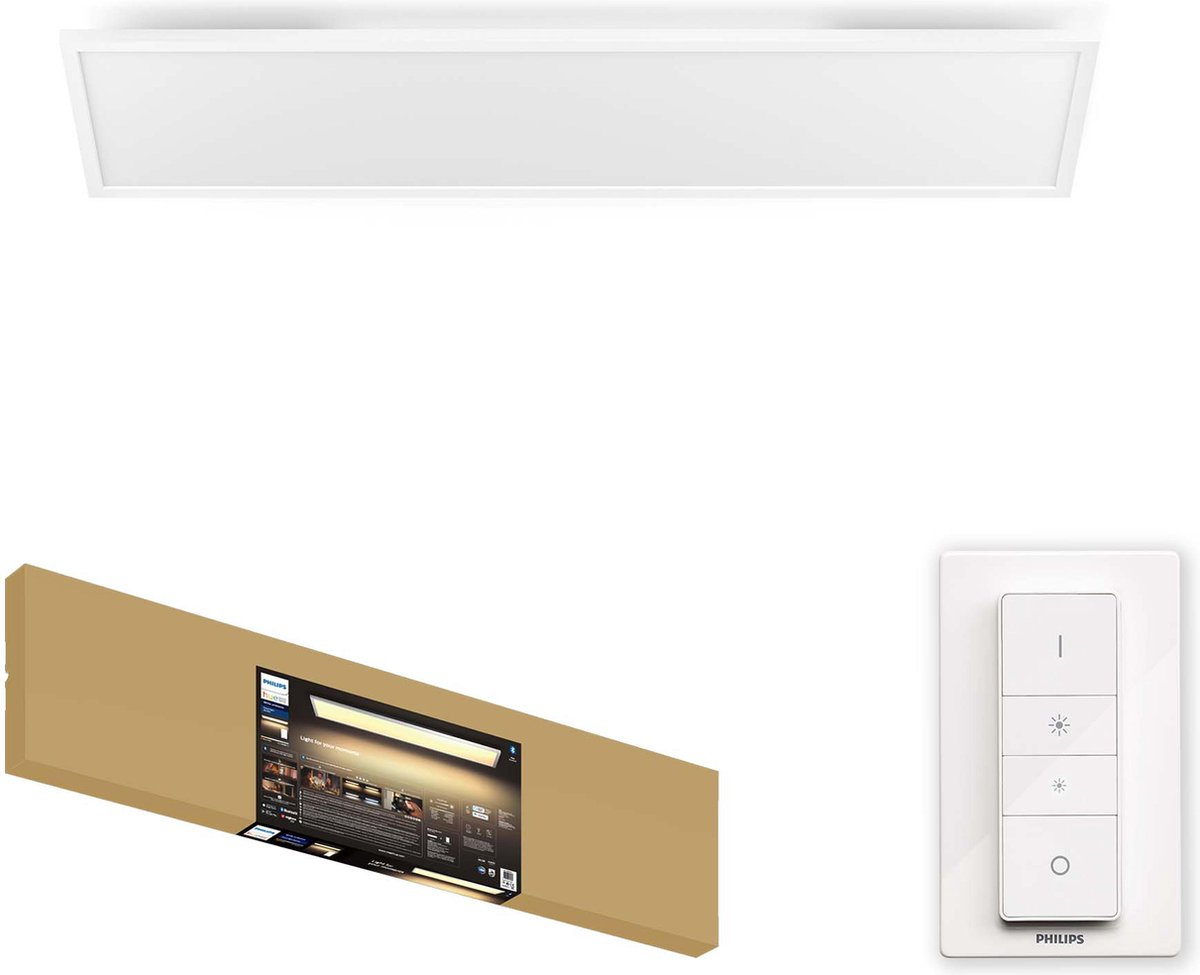 Philips Hue - Aurelle Panel Ceiling Lamp - White Ambiance Bluetooth