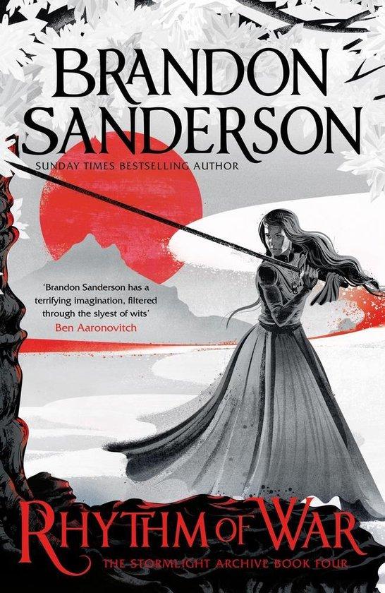 Boek cover Rhythm of War van Brandon Sanderson (Paperback)