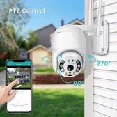 Draadloze Dome IP beveiligingscamera - full HD 1080P - Bewegingsdetectie - met App