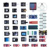 Arduino Sensoren Kit V2 - 37 Sensoren In 1 Opbergdoos - Arduino Starters Set Sensoren - Inclusief Handleiding en Voorbeeldcode