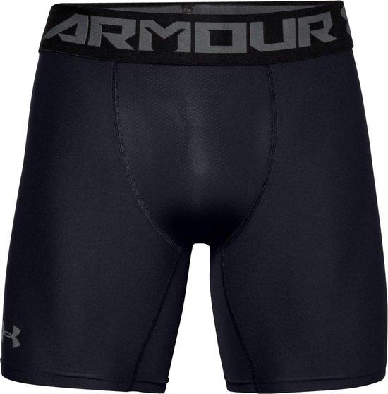 Under Armour HG Armour 2.0 Comp Short Heren Sportbroek - Zwart - Maat M