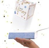 LocoBox - Wenskaart - Boom kaart - Wenskaart verjaardag - Out of the Box - Confetti -Verjaardag - Happy birthday