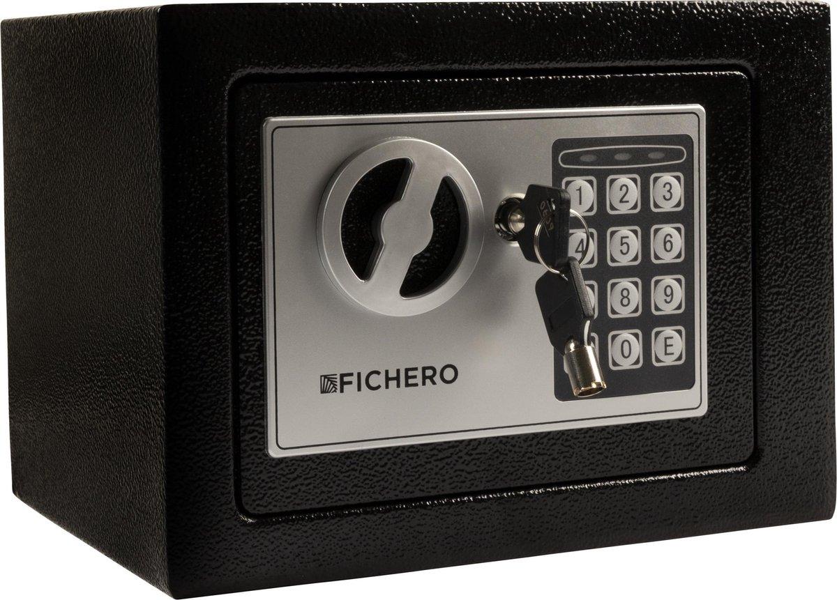 Fichero Elektronische Kluis – met Cijferslot – Zwart
