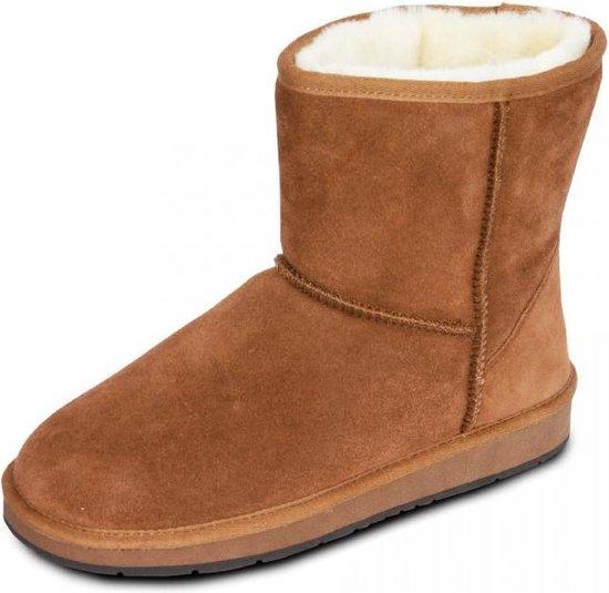| Lederen suede boots laarzen dames gevoerd met