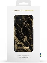 iDeal of Sweden Fashion Case iPhone 11/XR Golden Smoke Marble