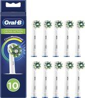 Oral-B CrossAction Opzetborstel- Met CleanMaximiser-technologie - 10 Stuks