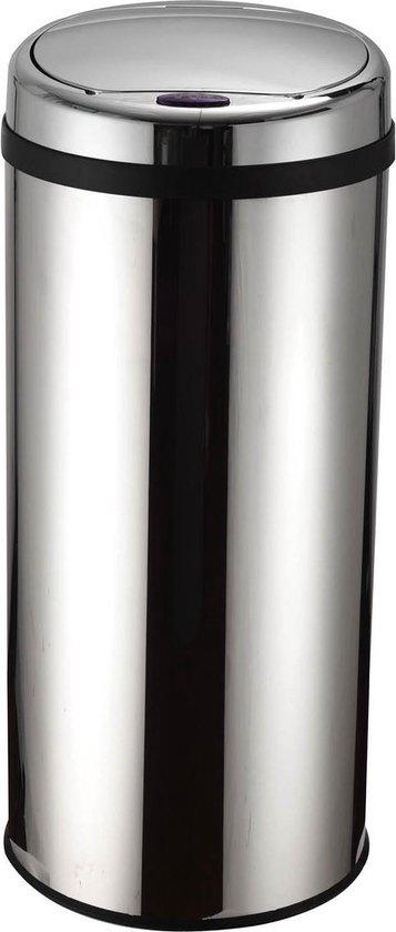 Prullenbak deluxe - met sensor - 50 Liter