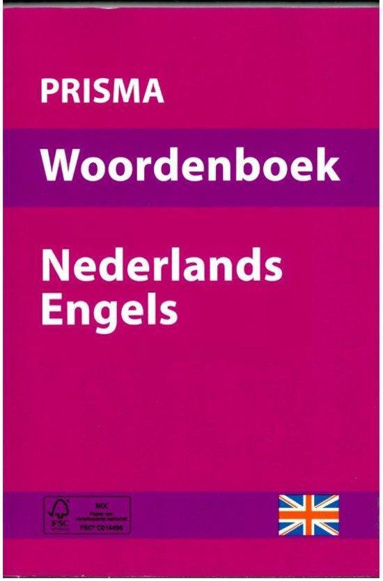 Boek cover Prisma woordenboek Nederlands - Engels van Prisma (Paperback)