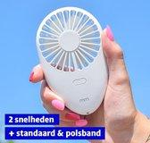 MikaMax – Handventilator – Mini Oplaadbare Ventilator –  Compact formaat