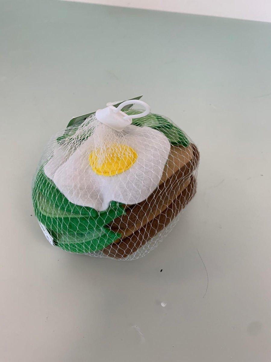 stoffen avocado toast speelgoed