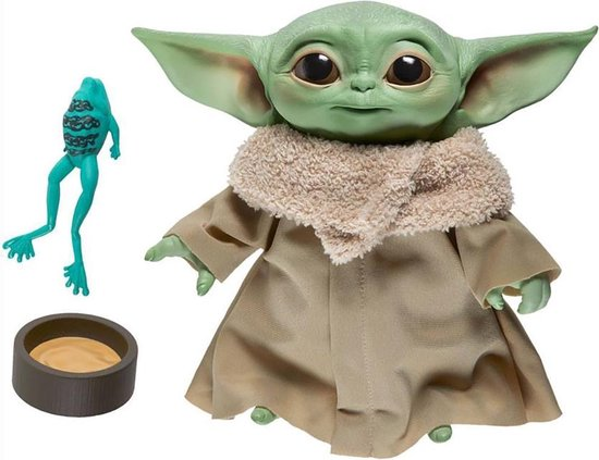 Star Wars The Mandalorian The Child Yoda Talking Plush - Speelfiguur